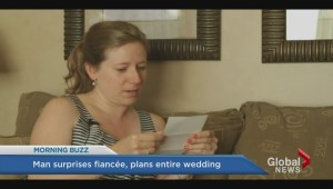 Man surprises fiance by planning entire wedding