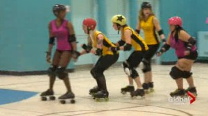 the GTA Roller Girls skate for the love of the sport and spread that love by supporting charities.