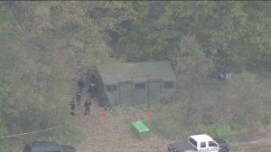 Raw: Police investigate field related to Tim Bosma disappearance