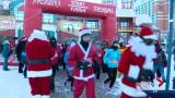 Hundreds don't let weather spoil Annual Santa Shuffle