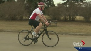 Military vet cycling across Canada