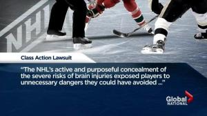 Former NHL players launch lawsuit
