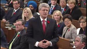 Harper back in the hot seat in Question Period