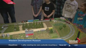 Model trains at the WDM