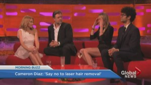 Cameron Diaz opposed to laser hair removal