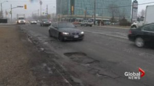Toronto again dominates list of province's worst roads