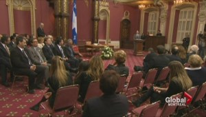 PQ swearing-in ceremony tinged with sadness