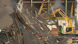 Raw video: Halifax Shipyard teardown