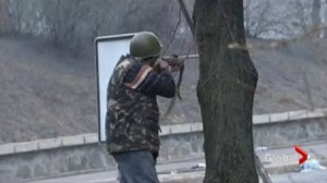 The bloodiest day for anti-government protests in Ukraine