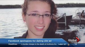 Website administrator apologizes for using Rehtaeh Parsons picture in dating ads