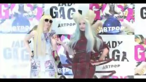 Lady Gaga unveils Life Size Gaga Dolls in Japan