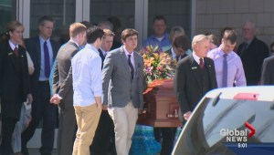 Hundreds mourn 3 victims of Brentwood stabbings