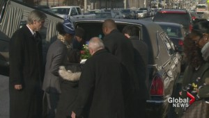 Emotional outpouring at funeral for Toronto toddler
