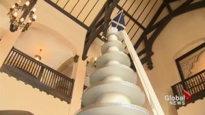 12-foot high cake stand big attractions at Casa Loma