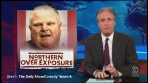 The Daily Show looks into who's still supporting Mayor Rob Ford