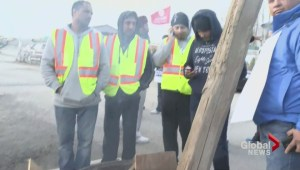 Truck drivers at port metro Vancouver escalate job action