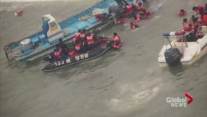 Anguish as South Korea ferry search goes on