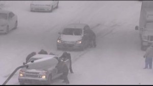 U.S. east coast get hit by heavy snow storm