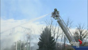 Fire guts Kelowna factory