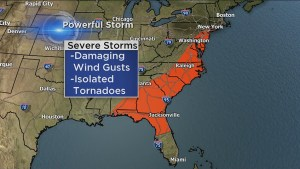 Severe weather rips through U.S.