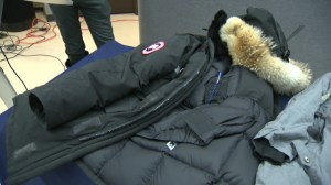 Counterfeit coats discovered