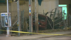 Stolen vehicle chase leads to crash on Bloor West