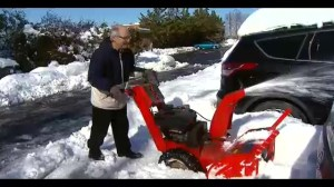 Snow piles making it difficult for U.S. drivers