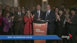 BC NDP leadership race…no longer a race as Farnworth steps aside