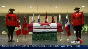Final preparations for Jim Flaherty's state funeral underway