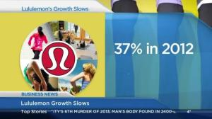 Lululemon growth slows