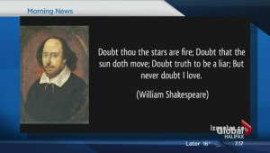 Science in Shakespeare