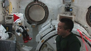 First talking astronaut robot onboard the ISS