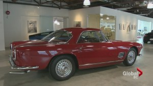 BC man auctions off rare Maserati