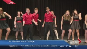 The Newman Glee Club goes back in time