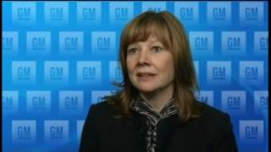 General Motors announces first woman CEO