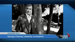 George Clooney laments how difficult it is to be George Clooney
