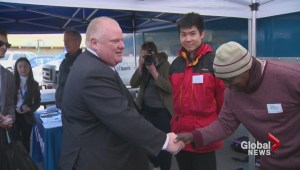 Rob ford comments on using Fire Truck for campaign event