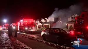 Panorama fire leaves two families homeless