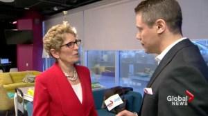 Interview: Wynne talks about GTA transit expansion