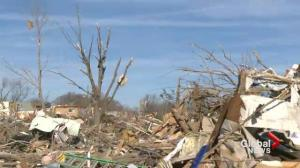 Communities hard hit by U.S. tornadoes