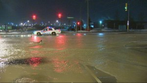 Vaughan water main break