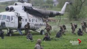 Violence flares in Ukraine