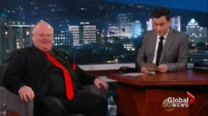 Rob Ford thinks he 'held his own' in Jimmy Kimmel appearance