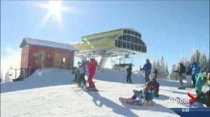 Skiers drawn to the Okanagan