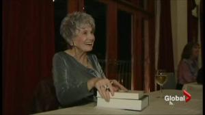 Alice Munro's Nobel prize awarded