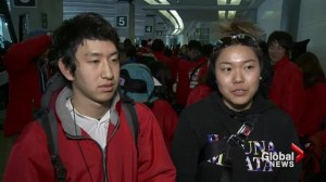 Japanese students arrive to help Ucluelet tsunami debris clean-up