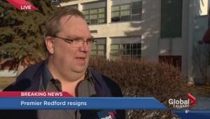 Redford resignation: Political Scientist Duane Bratt weighs in