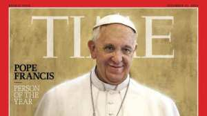 Pope Francis named 'Person of the Year'