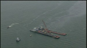 Shipping channel closed around Galveston due to oil spill