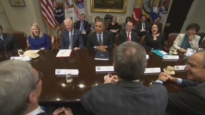 Obama sits down with tech CEOs to discuss NSA and healthcare website
